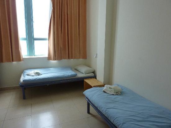 Abraham Hostel Jerusalem: chambre