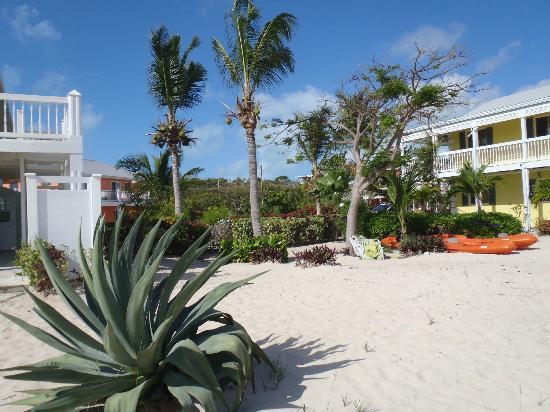 Aquamarine Beach Houses: Area between houses