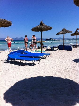 La Mirada : Strandområdet