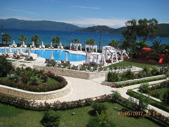 Ionian Emerald Resort: View from balcony