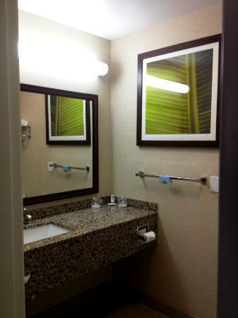 Fairfield Inn & Suites Grand Junction Downtown/Historic Main Street: Vanity in Bathroom