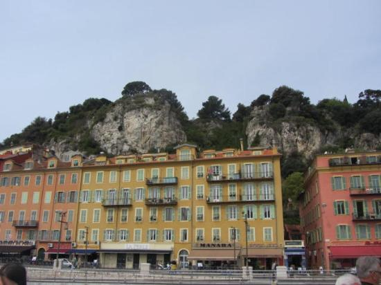 Trans Cote D'azur - The Coastal Ride: Castle hill Nice view from the boat