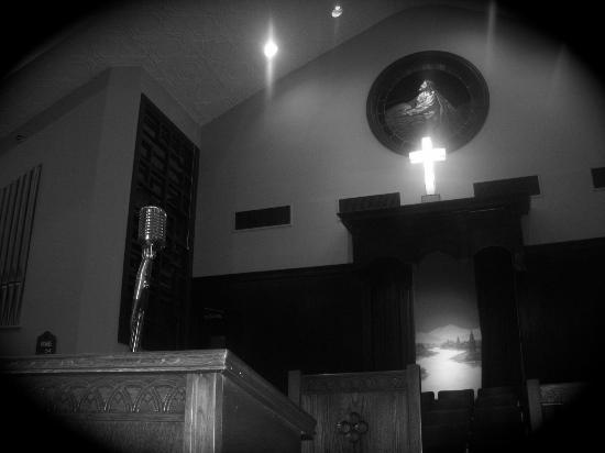 Ebenezer Baptist Church of Atlanta : Pulipt