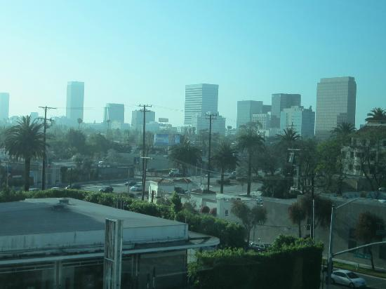 SLS Hotel, A Luxury Collection Hotel, Beverly Hills: View from the fifth floor