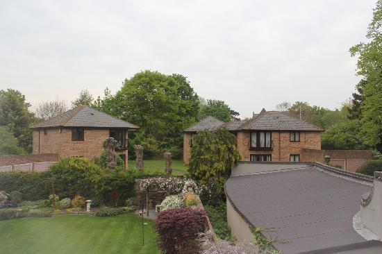 Brookfield House: my window room view
