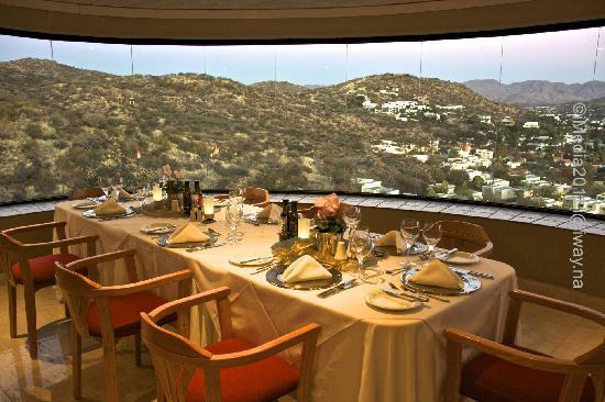 Hotel Thule: stunning views from dining room