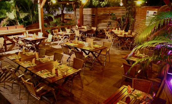 Zoo Rock Café : Restau exterieur