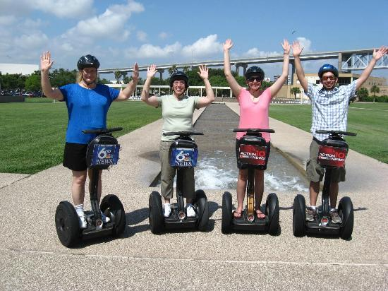 SegCity Guided Segway Tours: Test of balance - we passed !