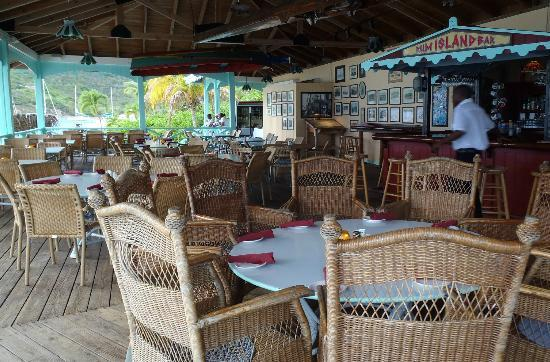 Pusser's Marina Cay Hotel and Restaurant: Pusser's