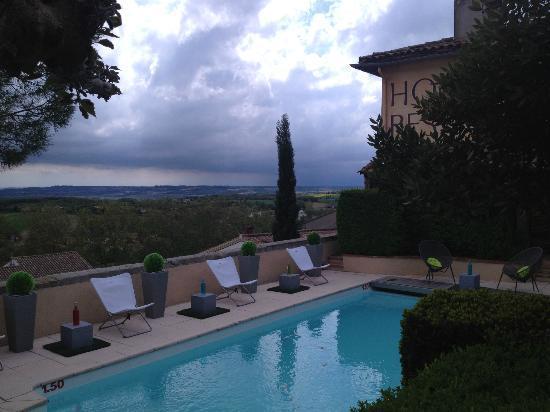 Cap de Castel : terrasse piscine