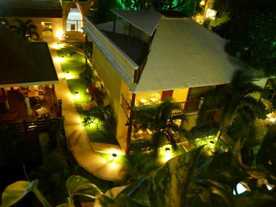Hotel Posada Sian Ka'an: View from 4th floor
