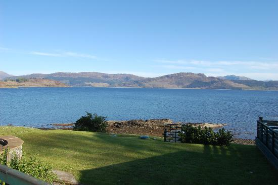 Balmacara Mains Guesthouse : View from guesthouse - Loch Alsh
