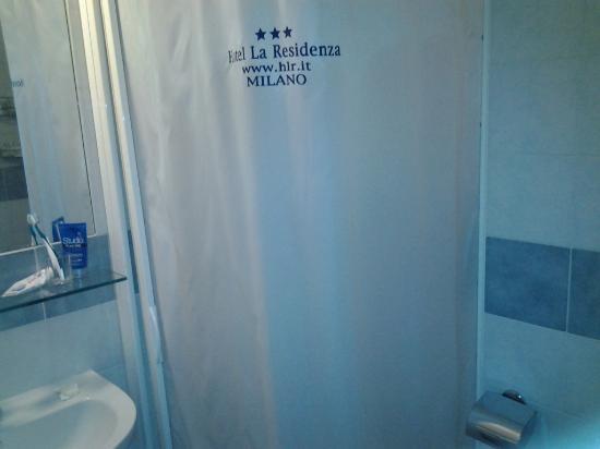 Eco-Hotel La Residenza: bathroom nice equipments