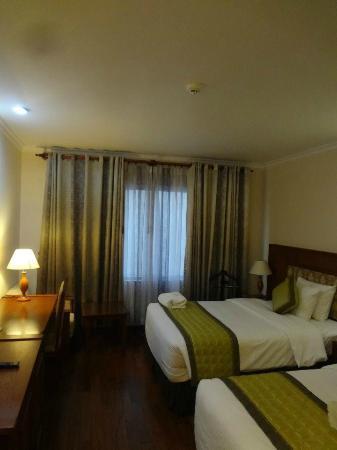 โรงแรมเฟิร์ส: 眺望なしタイプのお部屋でした