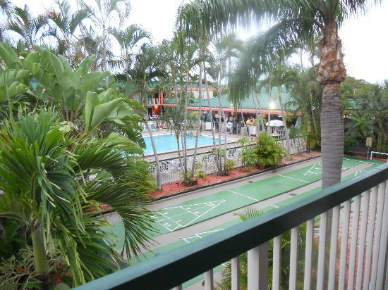 View From The Room Picture Of Wyndham Garden Fort Myers Beach Fort Myers Beach Tripadvisor