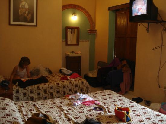 La Casona Del Vizconde: habitación doble.