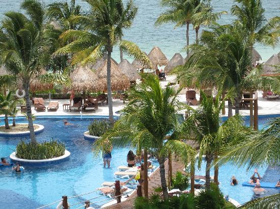 Excellence Playa Mujeres: view from room - zoomed #2