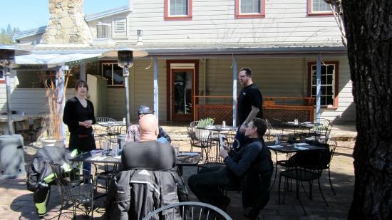 Volcano Union Inn + Pub: Patio