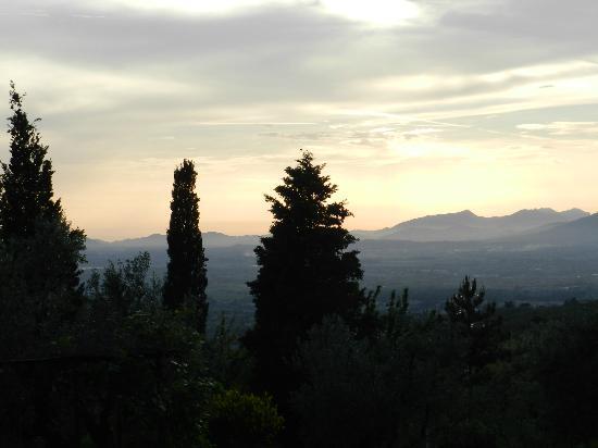 Agriturismo La Gioconda: sunset