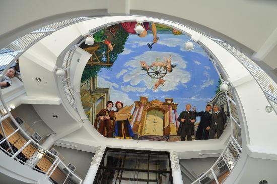 ceiling art Picture of Grohmann Museum Milwaukee TripAdvisor