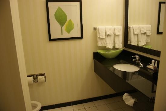 Fairfield Inn & Suites Oklahoma City NW Expressway/Warr Acres: bath