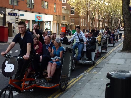 London Pedicarriage Tours