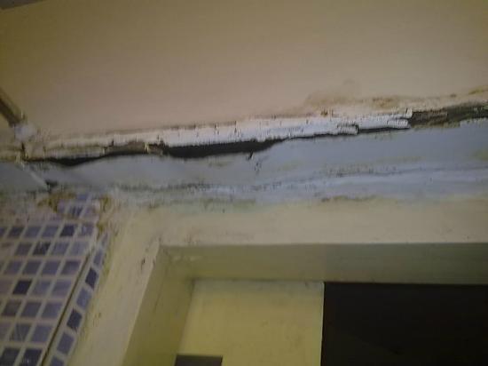 Varca Palms Beach Resort: Bathroom Hanging ceiling
