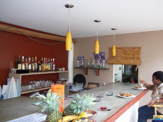 De Barcelona: Their bar area