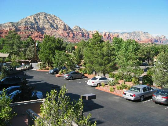 Southwest Inn at Sedona: View from room 2015