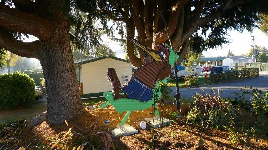 All Seasons Holiday Park Taupo: Mascot for All Seasons Holiday Park