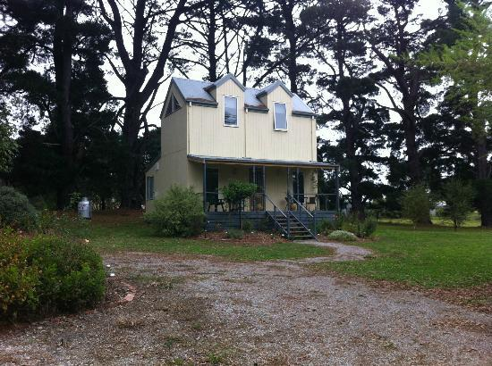 Strzelecki, Austrália: Wide view of the Cottage we stayed in...