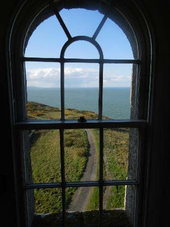 Wicklow Head Lighthouse: View from living room