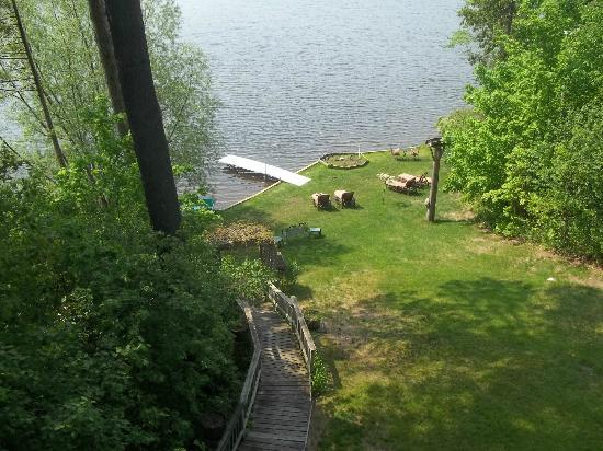 Lakeside Bed and Breakfast : view from room