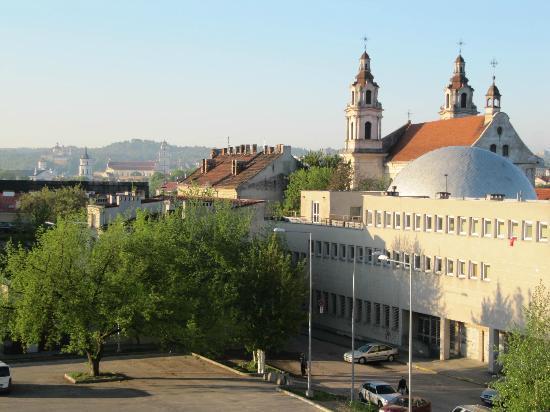 Best Western Vilnius: Vue de la chambre
