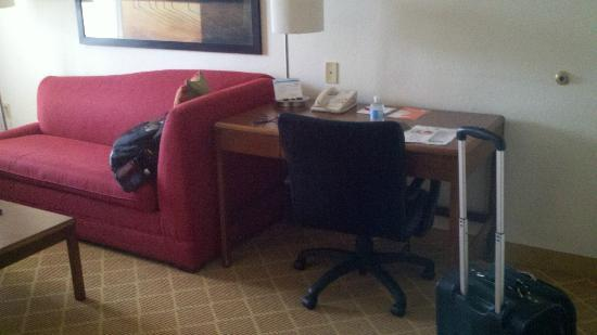 Residence Inn Austin Round Rock : Work area