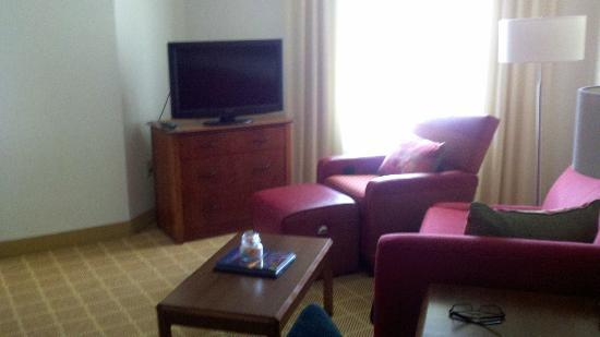 Residence Inn Austin Round Rock: TV Room area