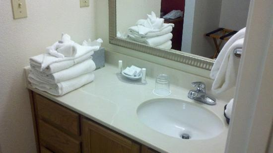 Residence Inn Austin Round Rock: Bathroom sink