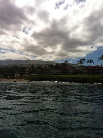 Wailea Beach: very south tip