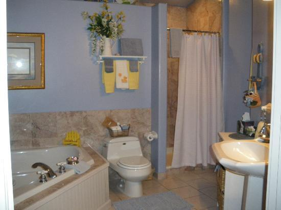 Conifer House Inn: The ensuite in the Nantucket Room