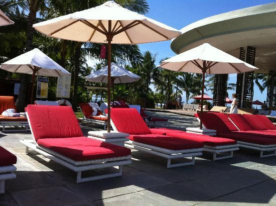 Club Med Bali: poolside