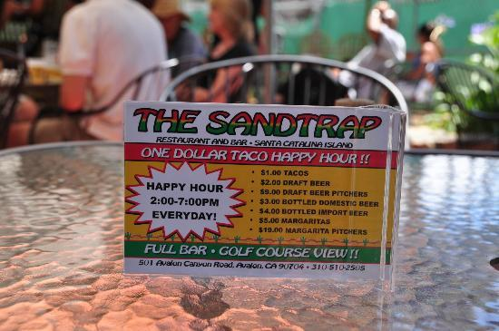 The Sandtrap Restaurant and Bar