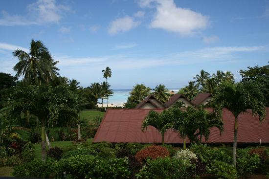 Sea Change Villas: View from the front deck