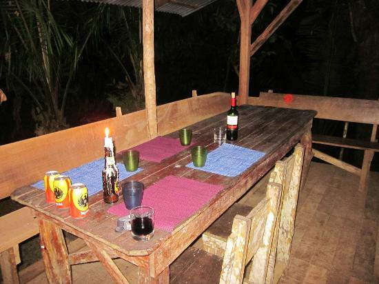 Rio Drake Farm: Dinner!