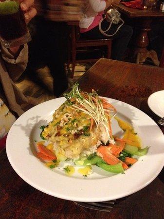 Lemongrass Grill Seafood & Bar : Mac nut sea bass