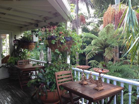 Peace and Plenty Inn: 花にあふれるお庭