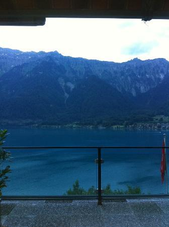 Hotel Brienzersee: View from balcony