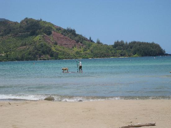 Hanalei, Hawái: beach3