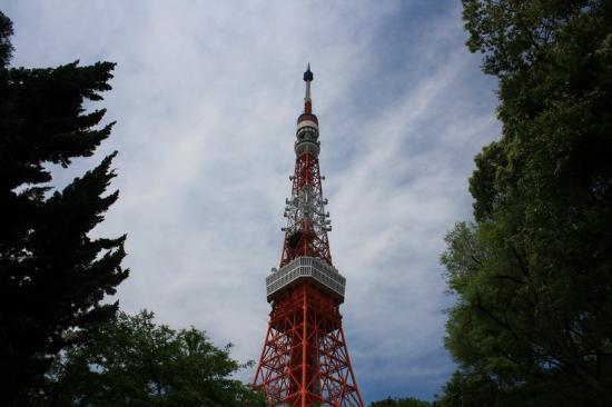 Tokyo Tower: Accediendo a la torre