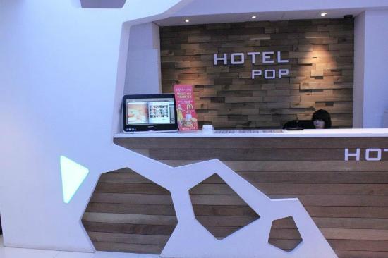 Pop Hotel 1 : Mini lobby / front office
