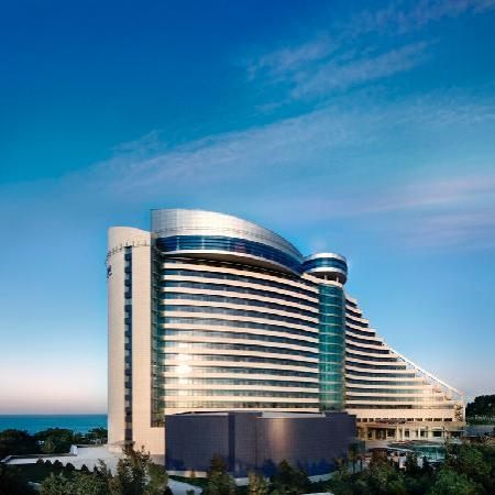 Bilgah Beach Hotel: Hotel Facade